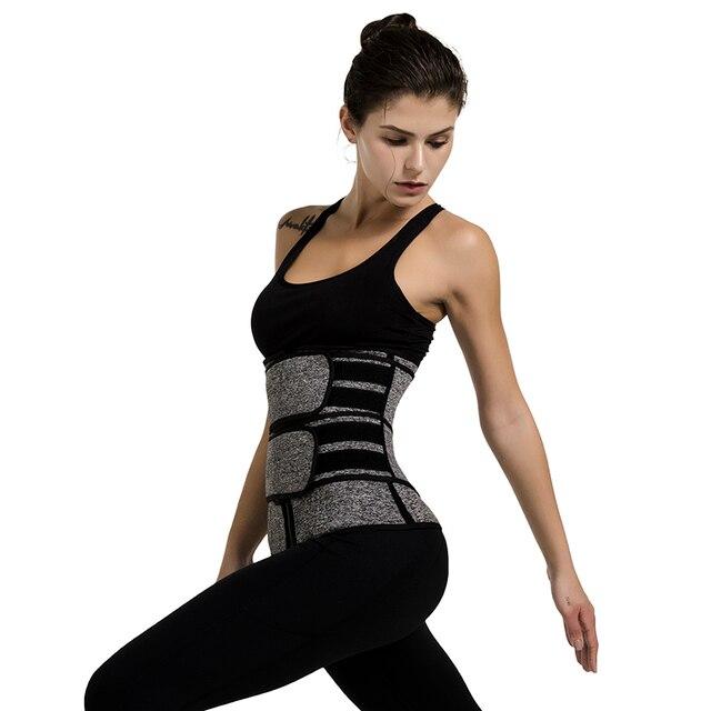 Waist Trainer Neoprene Body Shaper Women Slimming Sheath Belly Reducing Shaper Tummy Sweat Shapewear Workout Trimmer Belt Corset 4