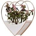 Украшение для дома  гостиной  стены  садовое украшение  цветочный горшок  Настенный декор  суккулентный горшок  цветочный горшок  сердце  под...
