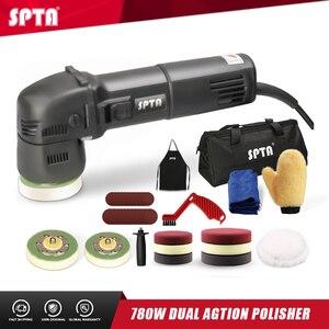 Image 1 - SPTA 3 인치 미니 자동차 폴리 셔 780W/10mm 듀얼 액션 폴리 셔 DA 자동차 폴리 셔 자동 폴리 셔 기계 스폰지 연마 패드 세트