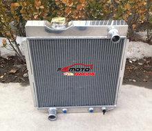 5 reihe Aluminium Legierung Kühler Für 1964-1966 64 65 66 FORD Mustang V8 MOTOR 5,0 L