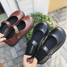 2018 New Hot Retro Wild Trend Flat Shoes Fashion Simple England Womens