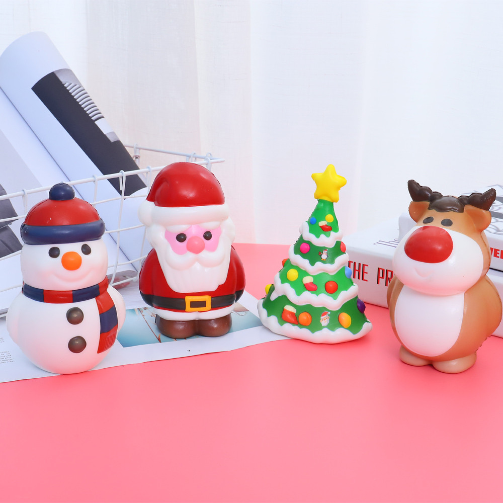 Squishy Kawaii Christmas Toy Slow Rising Cream Scented Stress Relief Toys Squeeze L1014