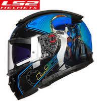 Casco LS2 FF390 Breaker Full face Motorcycle Helmet With Inner Sun Shield Racing Man Woman capacete ls2 Helmet casco moto ls2