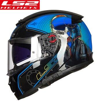Casco LS2 FF390 Breaker Volledige gezicht moto rcycle Helm Met Innerlijke Zon Schild Racing Man Vrouw capacete ls2 Helm casco moto ls2