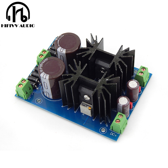 Hifivv audio Lt1084cp linear power supply HIFI linear power supply dual output linear power supply board high power linearity