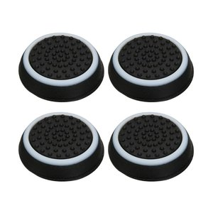 Thumb Stick Grips Caps For Playstation 4 Ps4 Pro Slim Silicone Analog Thumbstick Grips Cover For Xbox Ps3 Ps4 Accessories
