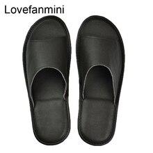 หนังวัวแท้รองเท้าแตะคู่ Indoor Non SLIP ผู้ชายผู้หญิงหน้าแรกแฟชั่นแบบสบายๆรองเท้าเดี่ยว PVC นุ่มฤดูใบไม้ผลิฤดูร้อน 504