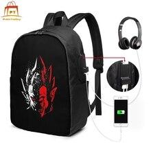 цена Korn Backpack Korn Backpacks Men's - Women's Schoolbag Bag Trend Teenage Pattern High quality Bags онлайн в 2017 году