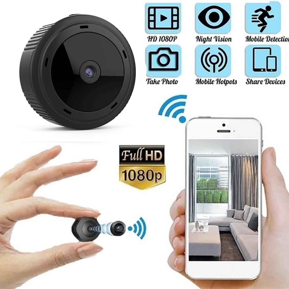 1080P Wifi Mini Camera Home Security Camera WiFi Night Vision Wireless Surveillance Camera Security Remote Monitor Indoor Cam