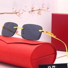 Sunglasses Women Luxury Square Punk Feminino Vintage High-Quality UV400 Oculos Lentes
