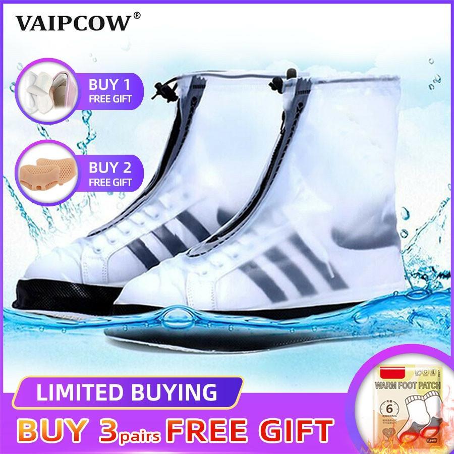 Wiederverwendbare Wasserdicht Überschuhe Schuh Abdeckungen Schuhe Schutz Männer & frauen & Kinder Regen Abdeckung für Schuhe Zubehör
