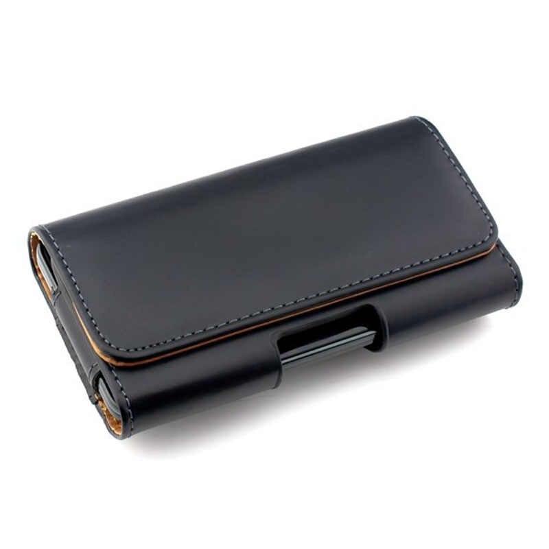 Универсальный чехол для телефона, чехол для iPhone, samsung, huawei, xiaomi redmi, nokia, модели, зажим для ремня, кожаный чехол