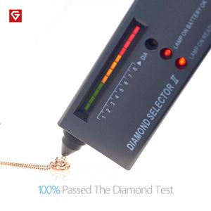 Image 5 - GIGAJEWE 0.5ct 5มม.EFรอบ18K Rose Gold Plated 925เงินMoissaniteสร้อยคอเพชรผ่านการทดสอบเครื่องประดับคริสต์มาสของขวัญ