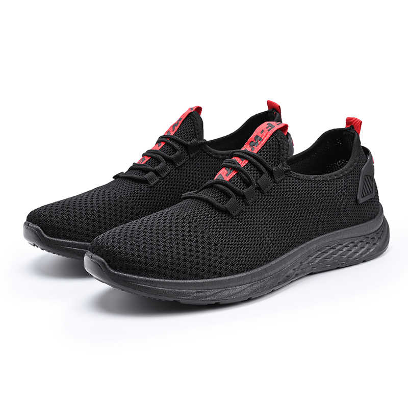 Erkek Spor Ayakkabı erkek ayakkabısı Adam Örgü Daireler Büyük Boy Oxford Loafer'lar Nefes Bahar Yetişkin Eğitmen