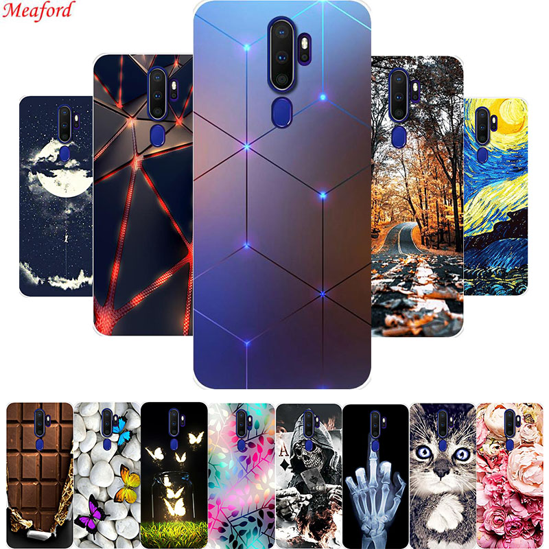 Popular <font><b>Case</b></font> For <font><b>Oppo</b></font> <font><b>A9</b></font> <font><b>A5</b></font> <font><b>2020</b></font> <font><b>Case</b></font> Soft TPU Cool Phone <font><b>Cases</b></font> For <font><b>Oppo</b></font> <font><b>A5</b></font> <font><b>A9</b></font> <font><b>2020</b></font> A11x Back Cover <font><b>Case</b></font> Silicone Coque Funda image