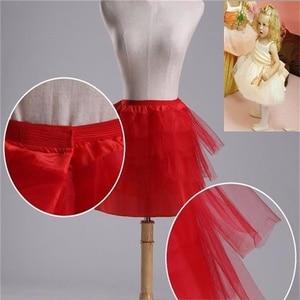 Image 5 - חדש לגמרי ילדי תחתוניות עבור פורמליות/פרח ילדה שמלת 3 שכבות Hoopless קצר קרינולינה קטן בנות/ילדים/ילד תחתוניות