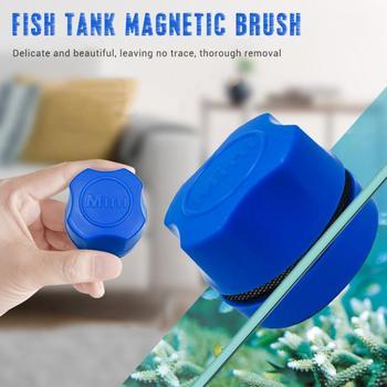 Cepillo limpiador magnético de algas para acuario, limpiador de algas para vidrio,...