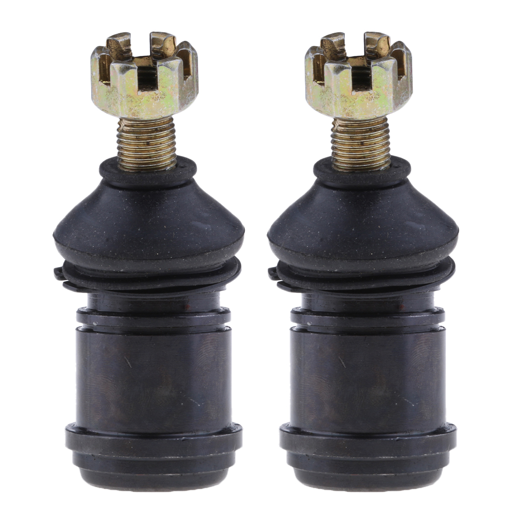 2 Pcs 12mm Round Ball Joint / Tie Rod End For 150cc 250cc Quad Dirt Bike ATV Go Kart Buggy ATV Accessories