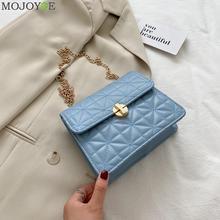Fashion Women Shoulder Handbag PU Leather Chain Small Pouch Crossbody Phone