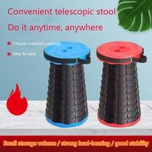 Stool-Line Telescopic-Stool Plastic Outdoor Up Folding Fishing Household Portable