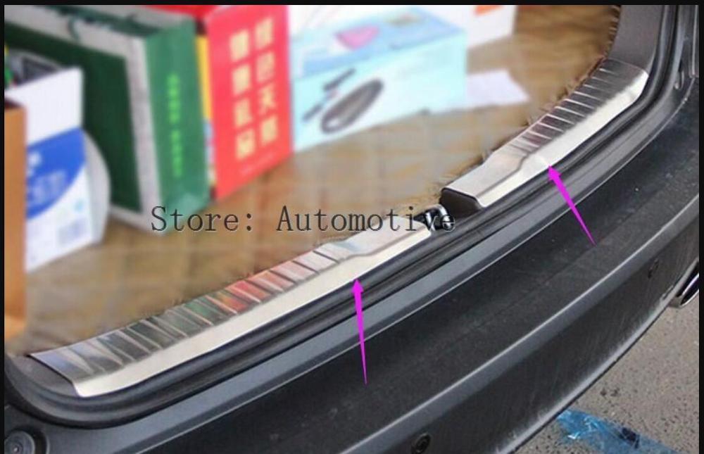 for Honda CRV CR-V 2017-2018 Steel Outer Rear Bumper Protect Plate Cover Trim 1*