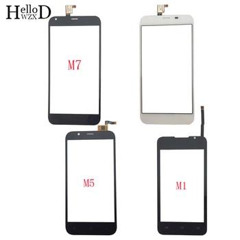 Touch Screen Mobile For Ark Benefit M1 M5 M7 TouchScreen Digitizer Panel Front Glass Lens Sensor 3M Glue Wipes смартфон ark benefit s503 черный