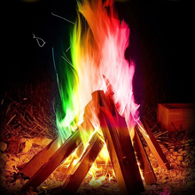 Professional color flame powder magic agent party beach campfire supplies