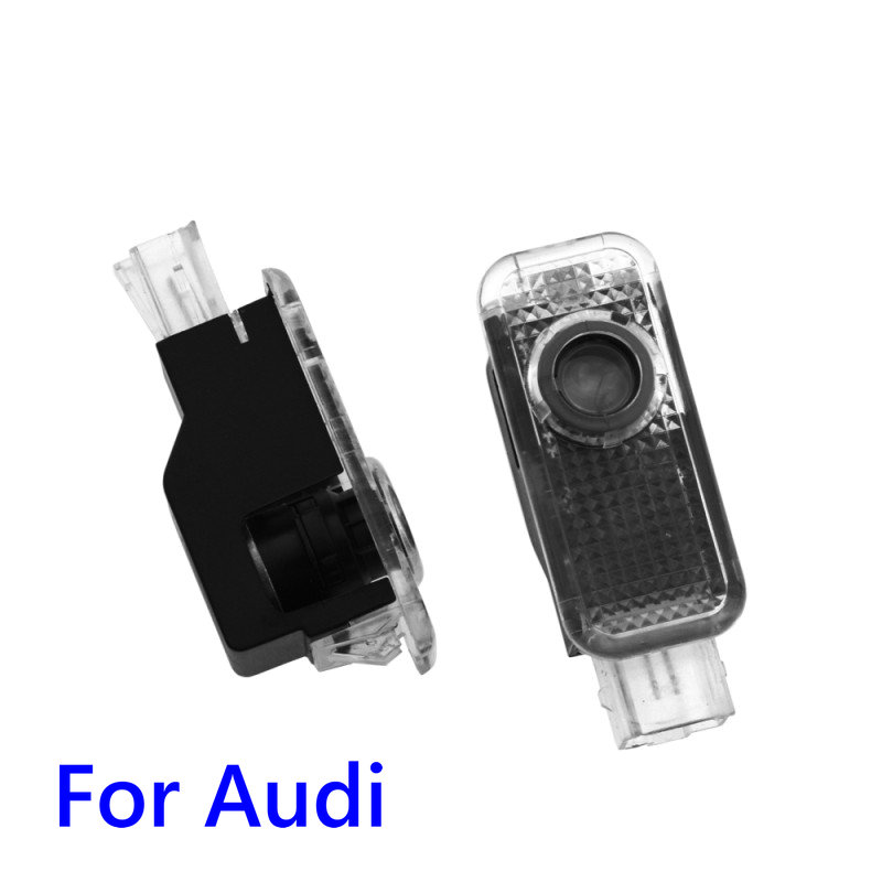 Led Car Door Welcome Light Projector Logo For Audi A4 B5 B6 B7 B8 B9 S3 S4 S5 S6 RS3 RS4 RS5 A5 C5 A6 C6 C7 A7 A8 Q5 Q7 S Line