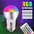 5 Вт RGB W/WW с козырьком, декорированные лампа Алюминий праздничную атмосферу лампа Гостиная бар Цвет Фул дистанционного Управление Цвет меня...