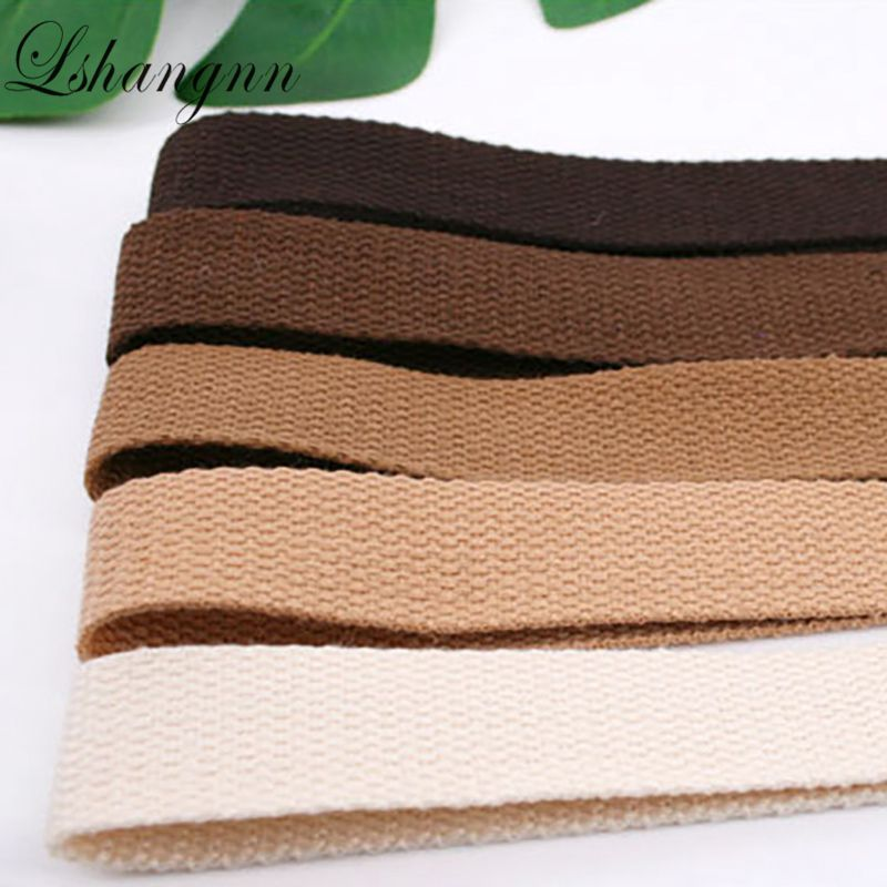 """5m Lovely Colours Great Quality of 25mm// 1/"""" Cotton Twill Apron Tape 5metres"""