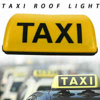 Universal Taxi Schild Dachplatte Dachschild gelbe Lampe Licht TAXI beleuchten LED Taxi Cab Dach Licht
