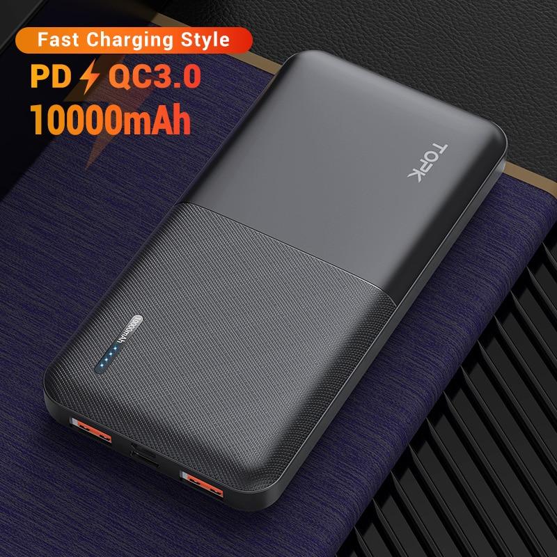 10000mah Black QC PD