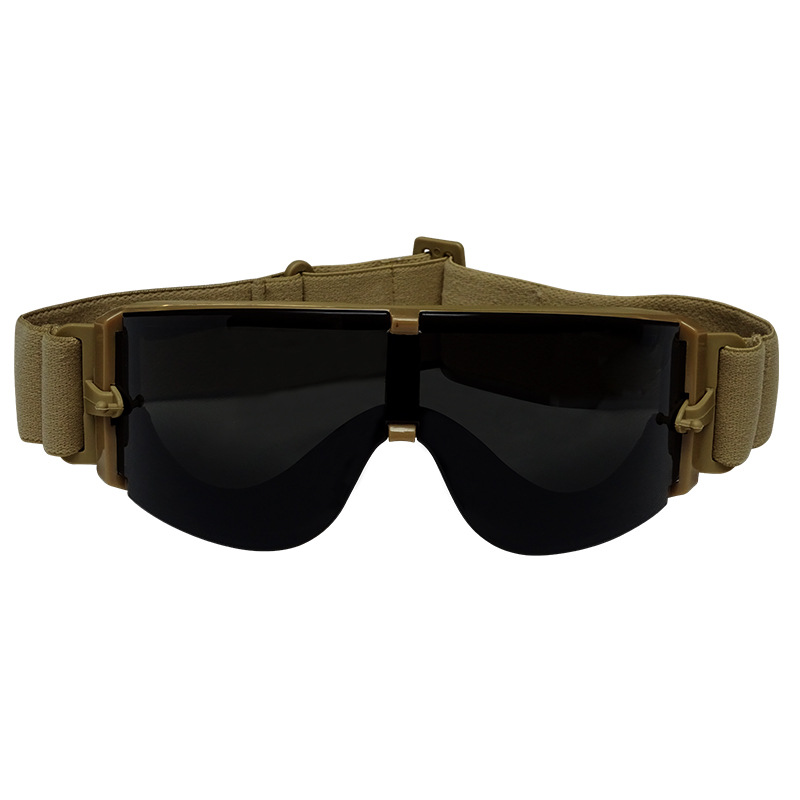 Di Lu Pu X400 Tactical Glasses Shooting Eye-protection Goggles Impact Resistance Protective Goggles Outdoor Goggles