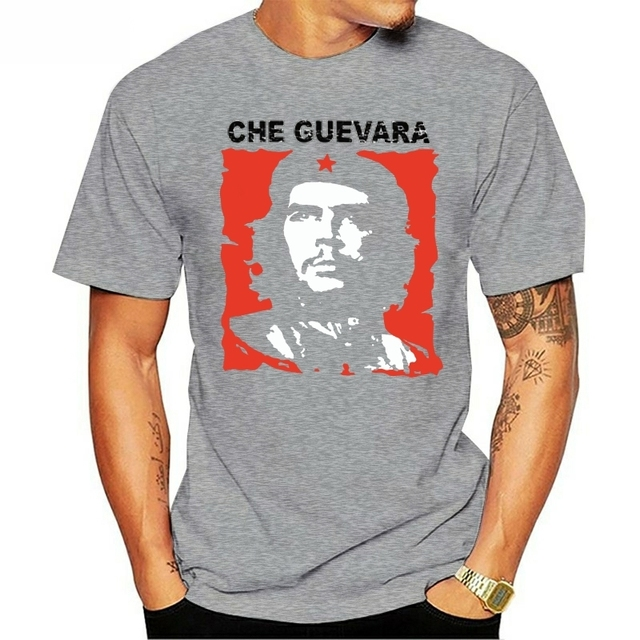 Velocitee Mens T-Shirt Che Guevara Revolutionist Revolution Cuba A22589