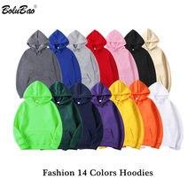 BOLUBAO Marke Männer Fashion Hoodies Tops Herbst Neue herren Einfarbig Kapuze Sweatshirts Trendy Beiläufige Hoodies Sweatshirts Männlichen