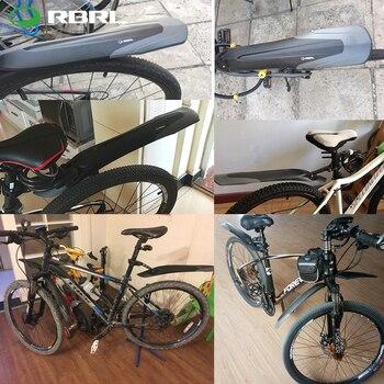 RBRL אופני מגן בץ סט MTB פנדר E-אופני 26 27.5 29 אופני הרי TPE להרחיב להאריך שחרור מהיר פטנט עיצוב RL-910