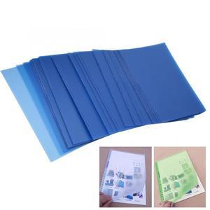 Image 2 - 50 قطعة A5/B5/A4 شفافة PP ملزمة غطاء الفيلم الناخس وثيقة المجلدات حماية الأوراق الداخلية