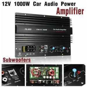 Image 3 - PA 80D 12V 1000W Mono samochodowy sprzęt Audio wzmacniacz mocy płyta wzmacniacza subwoofera