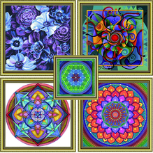Full Drill 5D Diy Diamond Painting Embroidery Cross Stitch Mandala Home Decor Rhinestones Inlay Diamond Embroidery наушники perfeo twins черный pf tws blk