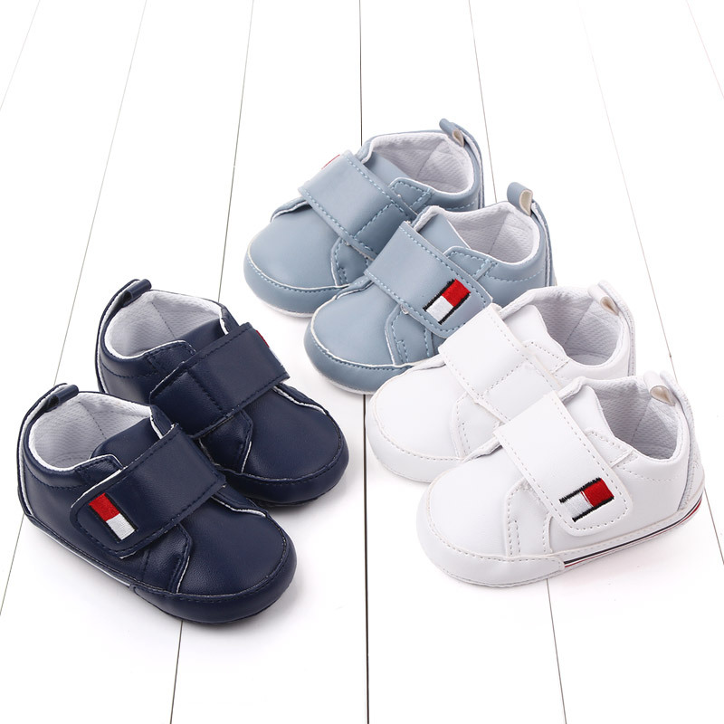 Pu Leather Baby Shoes Toddler Baby Boy Shoes for Months Wholesale First Walkers