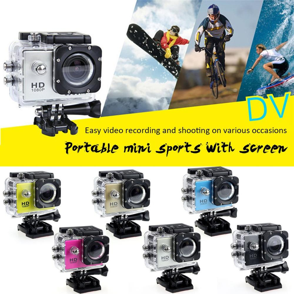 Outdoor Mini Sport Action Underwater Camera Waterproof Cam Color Screen Water Resistant Video Surveillance