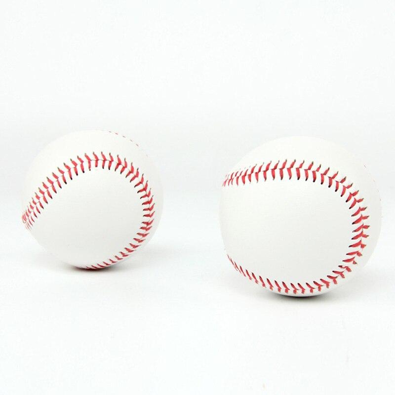 1* 7cm White Baseball Practice Training Base Ball Exercise Outdoor Sport Team