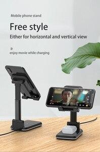 Image 2 - Station de charge rapide sans fil 2 en 1 pour téléphone, pour iphone 11 Pro Max XS X10W Qi Samsung S20 S10 Note 9 8 7 6