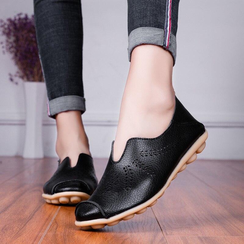 Femmes Respirant compensé dissimulé Mesh creux Talon À Enfiler Mocassins Baskets Chaussures