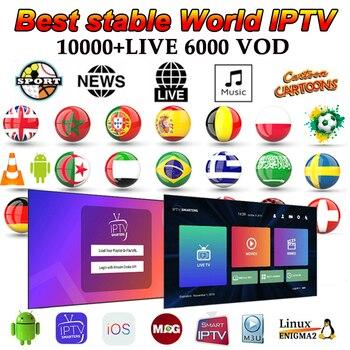 Iptv M3U10000 ライブ世界オランダポーランドブラジルラテンEX-YUスポーツ映画xxxサポートandroidボックススマートテレビ
