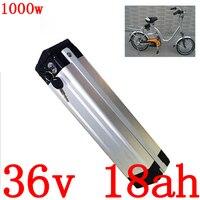 Bateria elétrica 36v 10ah 13ah 15ah 18ah 18ah bateria de lítio com 30a bms + 2a carregador 36v 500 w 1000 w bateria 36v 18ah bicicleta elétrica