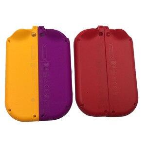 Image 5 - 1 Paar Paars Oranje Voor Nitendo Schakelaar Ns Joycon Vreugde Con Controller Behuizing Shell Case Voor De Nintendo Switch Red Cover