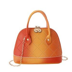 Мини-сумка 2020 новая сумка Шелл сумка разноцветная сумка на плечо оптовая продажа сумка-мессенджер женские сумки из синтетической кожи с кла...
