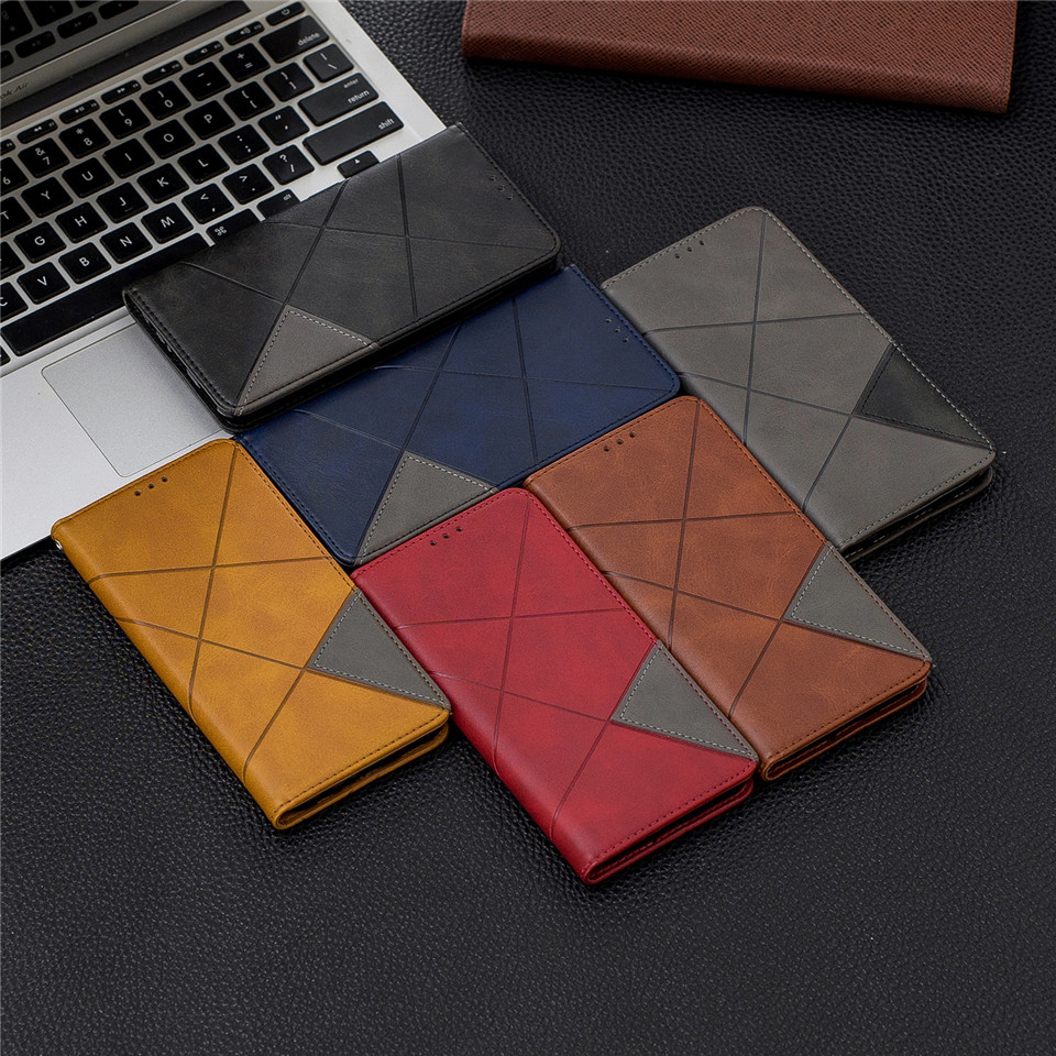 Haa7449363df14cecaf71bb6d6cef0ee3T For Huawei Honor 10 Lite Case Leather Wallet Flip Cover Soft Silicone Case for Honor 10i 9X 8A 8S Magnetic Case Card Holder