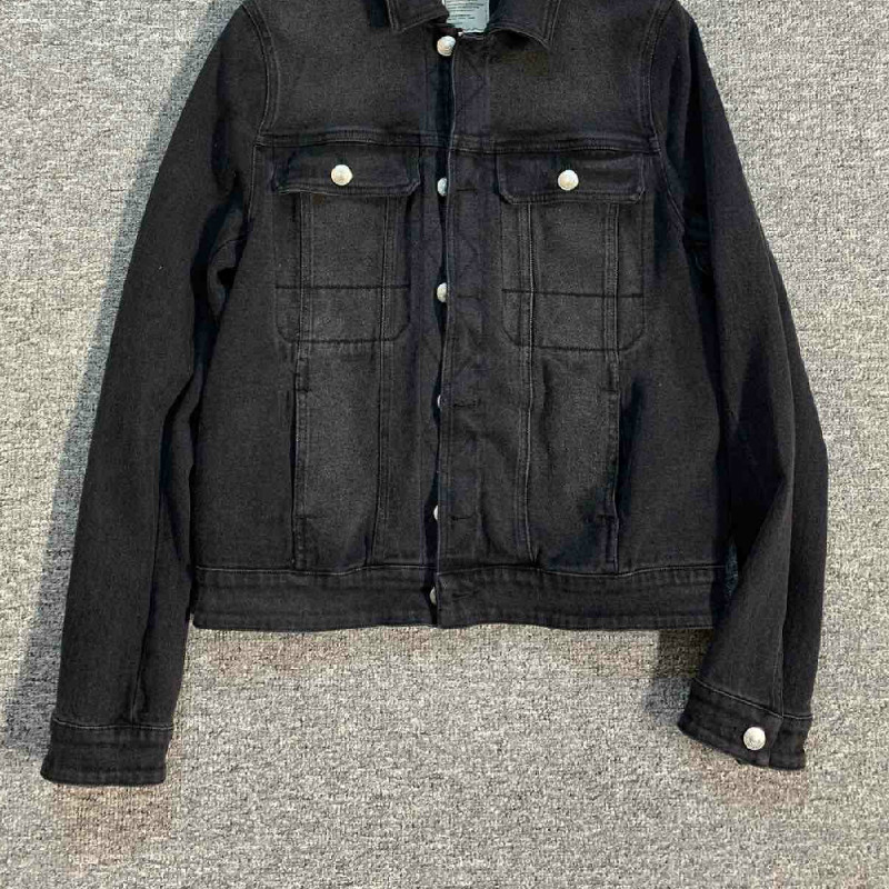 Women Jacket Black Cowboy Jacket